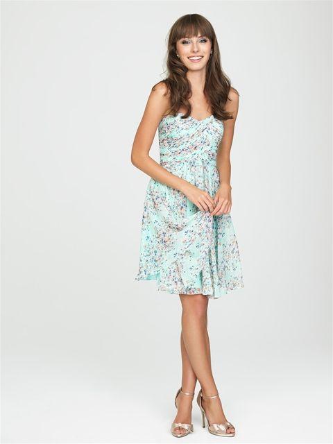 16 best Allure Bridesmaids images on Pinterest | Short wedding gowns ...