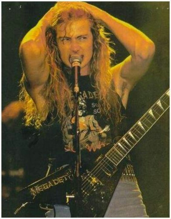 The king!! Dave Mustaine