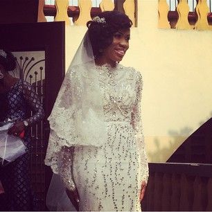 (And this closer view of it): | 82 Nigerian Brides Who Absolutely Killed It