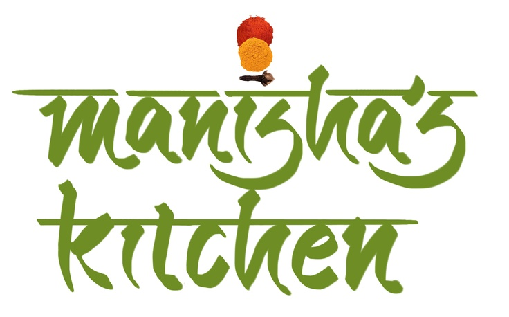 Manisha's Kitchen - English Logo