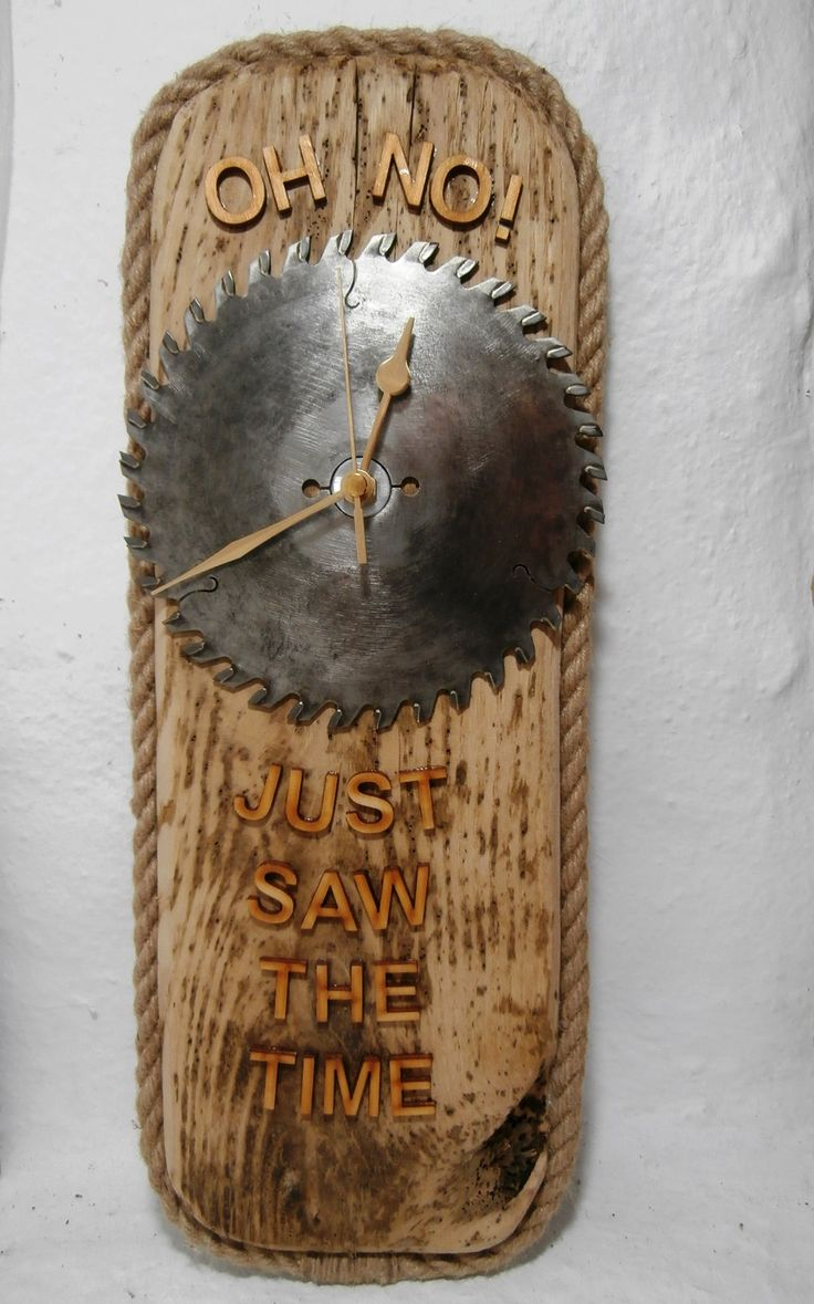 63 best driftwood upcycled clocks images on pinterest driftwood clock featuring an upcycled blunt circular saw blade httpswww amipublicfo Image collections