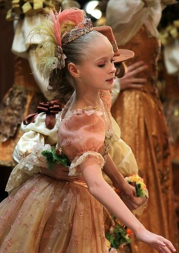 A Bolshoi Ballet Academy student in The Sleeping Beauty at the Bolshoi Theatre