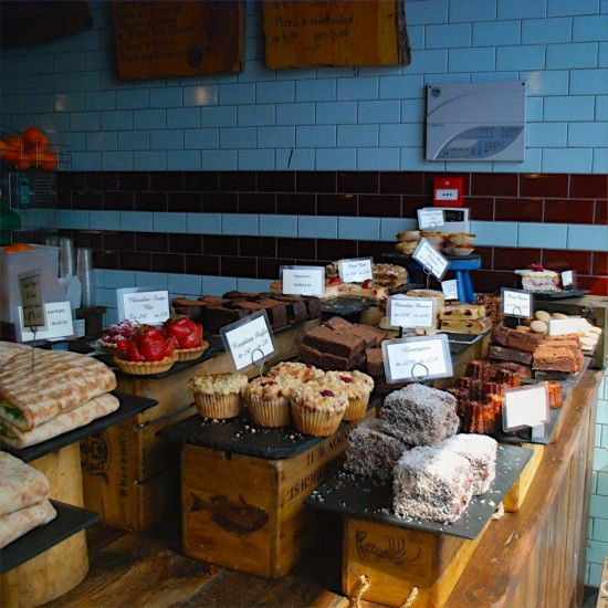 1786 best food display images on pinterest convenience for Coffee shop display ideas