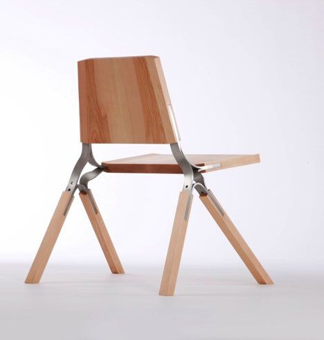 """We like San-Francisco-based furniture designer Andrew Perkins' take on sustainability: """"Sustainable design is foremost about the quality and emotional longevity of the object,"""" he writes. """"[I know] that if the idea isn't present than the object will not persist.""""Here we show two of Perkins' creations that surely will persist. The..."""