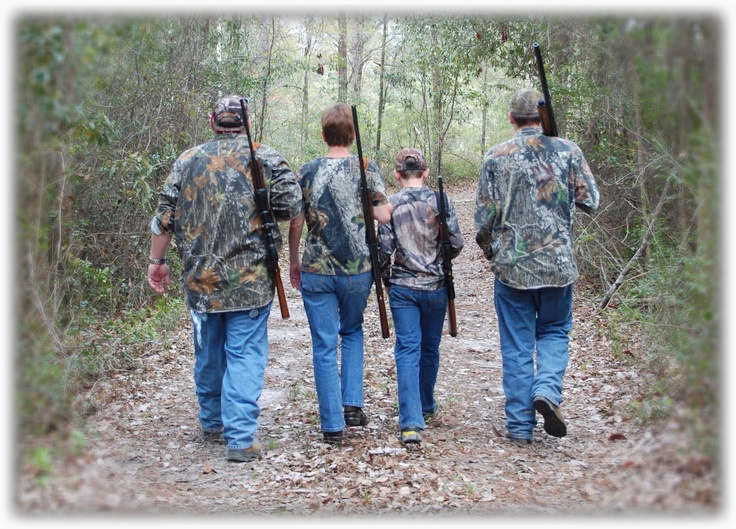 A family that hunts together, stays together...