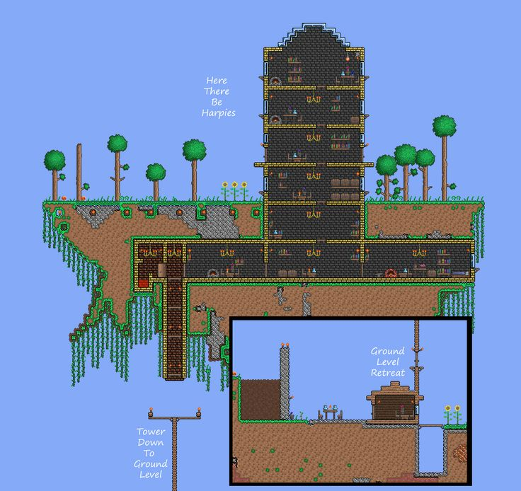 10 best images about terraria on pinterest trees cool for Best house designs terraria