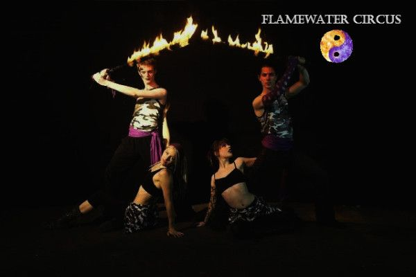 Flamewater Circus Militia Fire Show Izzy Ivy Ruby Tuesday Kenaz#fireshow #fireperformance #firearts #firetwirling #firespinning #firedancing #fireeating #firebreathing #fire #circus #twirl #spin #dance #pyro #Sydneyfiretwirlers #firetwirlers #firespinners #firedancers #fireeaters #firebreathers