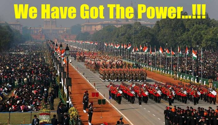 We Have Got The Power..!!! India is the one of the most powerful nations on the planet with a resplendent military cadre and unmatched combat expertise. A nation to be proud of and a force to be reckoned with. Experience the military prowess of India in full glory on the Republic Day Parades held in Delhi every year on 26 January. #India #Holidays #Tourism #Homestays #RepublicDay #Military #Force #Power #MenInUniform #Nationalism #Nation Website: www.indiaholidayideas.com
