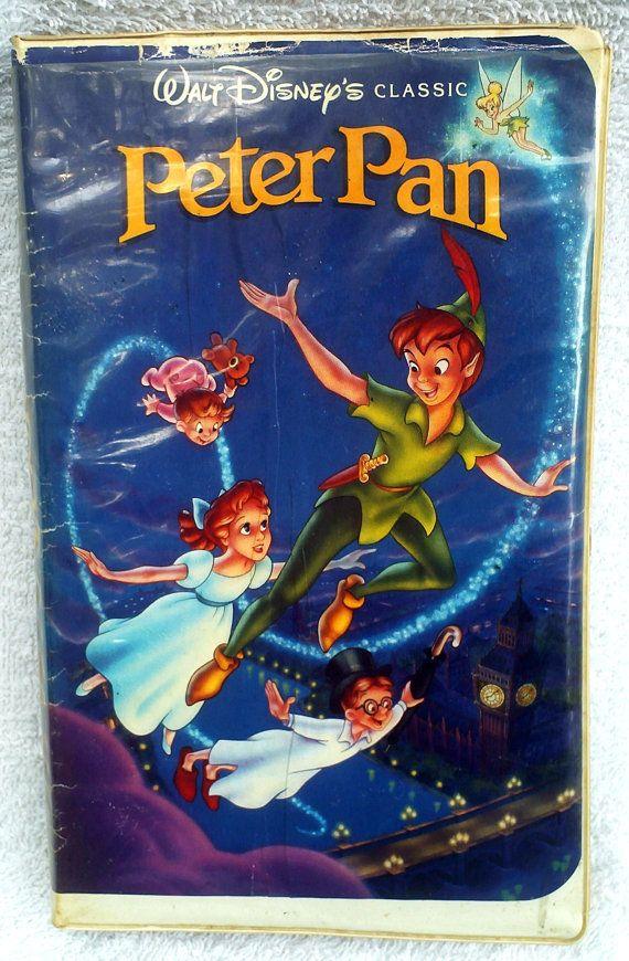 Vintage Disney VHS Movie Peter Pan Video