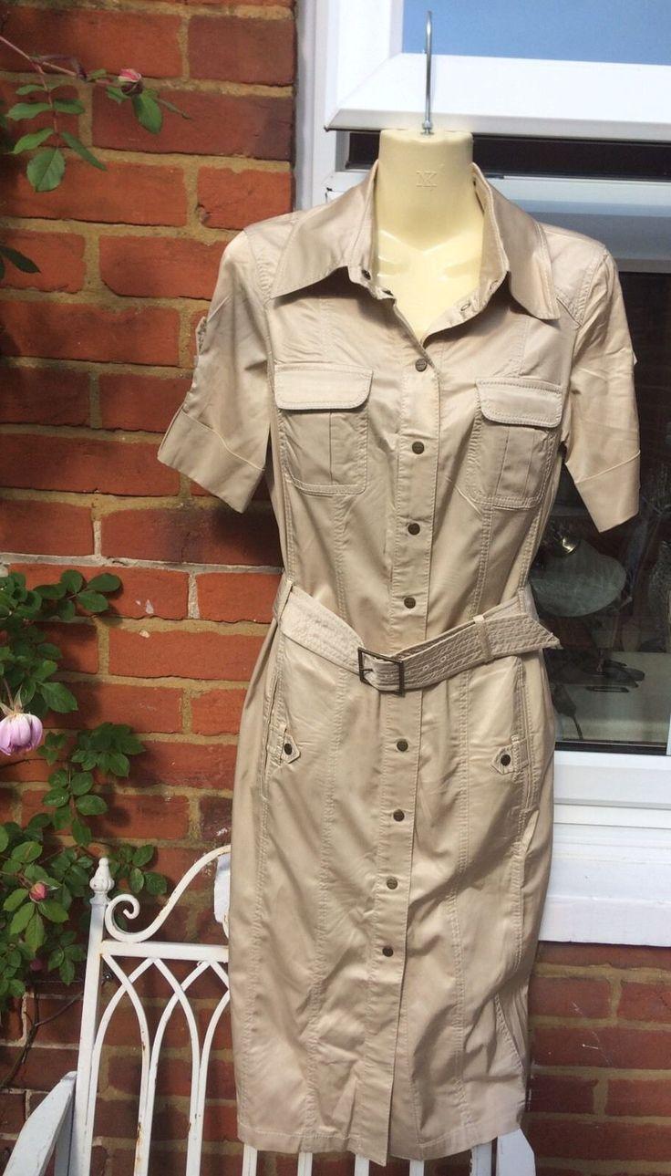 Design your own t shirt military - Karen Millen Military T Shirt Dress Size 10