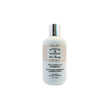 Winsome And Wisdom Toner Shampoo for Blonde Hair (Safely for Highlighted Hair)
