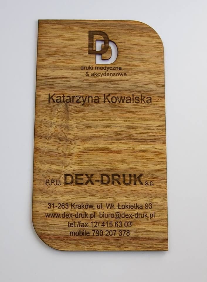 Dex Druk ELDORADO Business Cards make strong first impression. info@dex-druk.pl