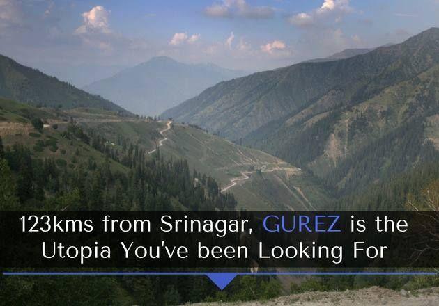 123 Kms from Srinagar, Gurez is the Utopia You're Searching! #TravelPlace #Tourism #Adventure #Hillstation #GurezAVirginValley #Srinagar #CityShorindore