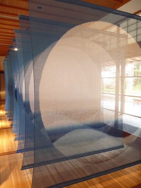"""Indigo Is the Color of My Dreams"" by Shihoko FUKUMOTO 