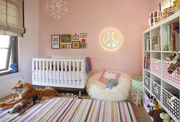 hippie nursery... i will be sure to pass this along to my sis