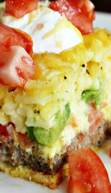 California Breakfast Casserole - I think I'll be making this for a Friday work breakfast.