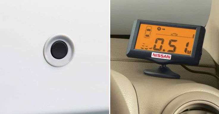 genuine Accessories of NissanCars - Shakti Nissan Reverse Parking Camera Get it here: http://www.shaktinissan.com/accessories.php