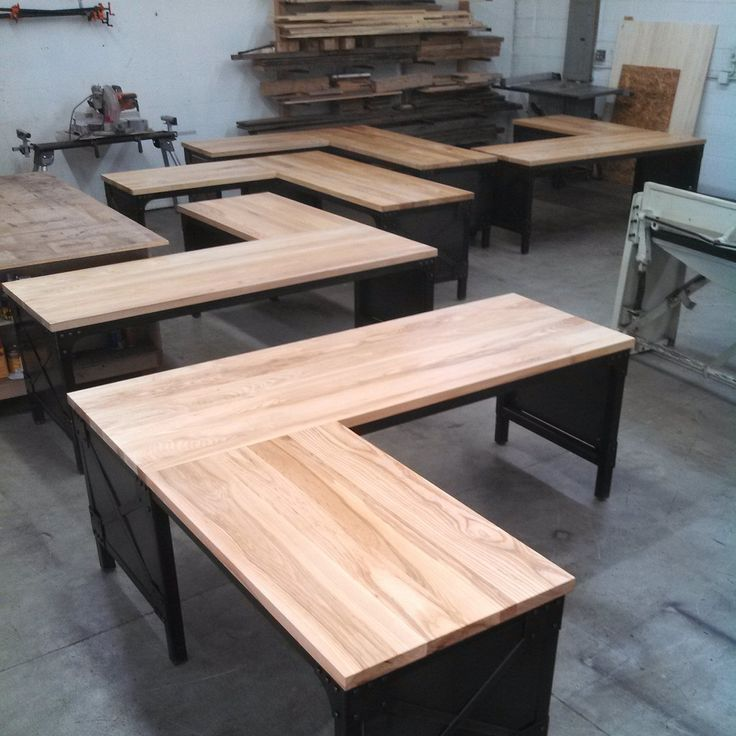 Handmade Office Furniture Sea Of Ash Desks Custom Desk
