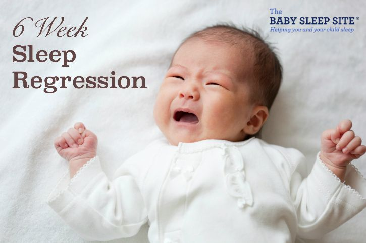 Is your 6 week old baby going through a sleep regression, or is it a growth spurt? We provide answers, as well as 6 week old baby sleep tips and help.