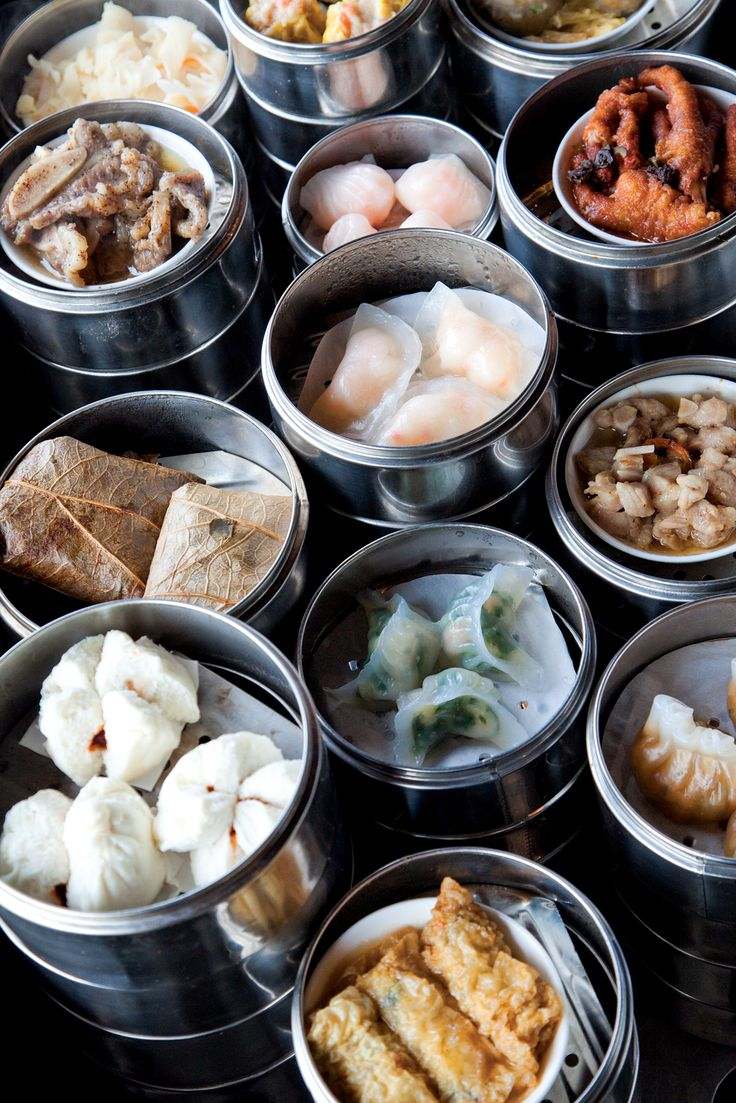 Dimsum is very traditional Chinese food, You can find the best in Chinatown in Singapore.