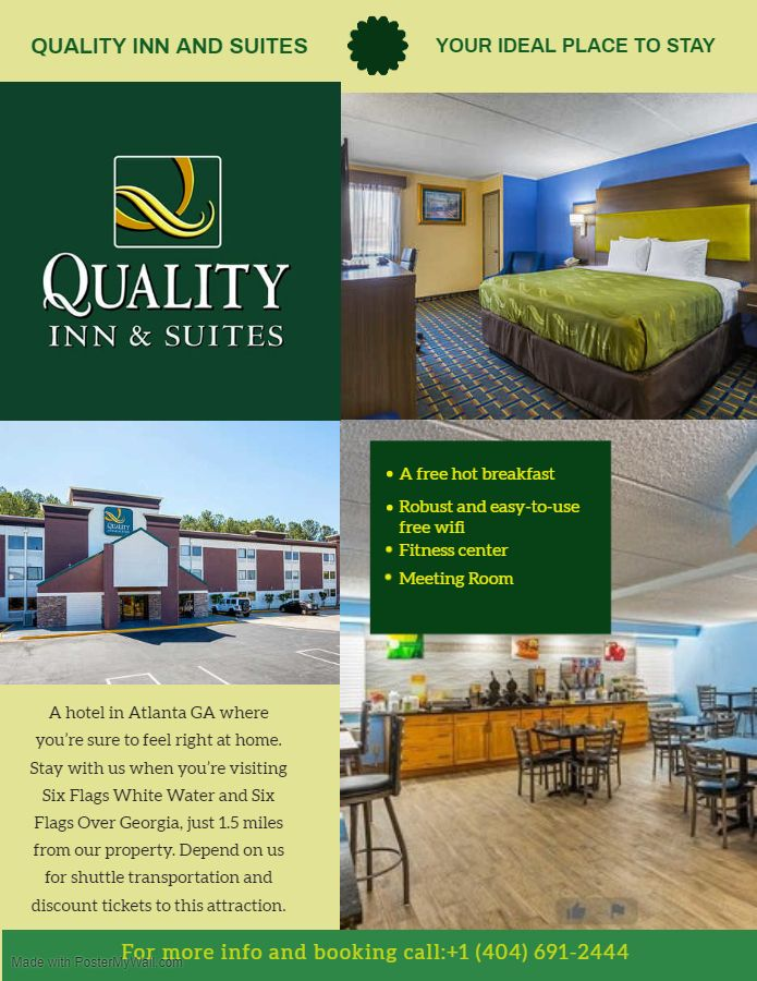 Welcome To The Quality Inn Suites Atlanta Hotel Providing The Best In Customer Service And Location For An Affordable Rate Atlanta Hotels Hotel Best Hotels