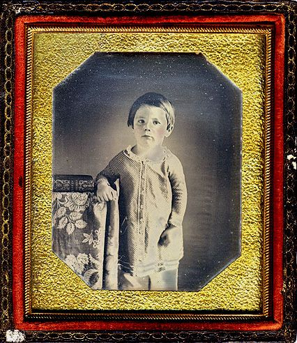 Edward Baker Lincoln, second son of Abraham and Mary Todd Lincoln, was born March 10, 1846.  In December of 1849 Eddie became quite ill with what was thought to be diphtheria and passed away on February 1, 1850. He wasn't even four years old. Eddie was an affectionate and deeply loved little boy. His loss left permanent scars in the hearts of his loving parents.