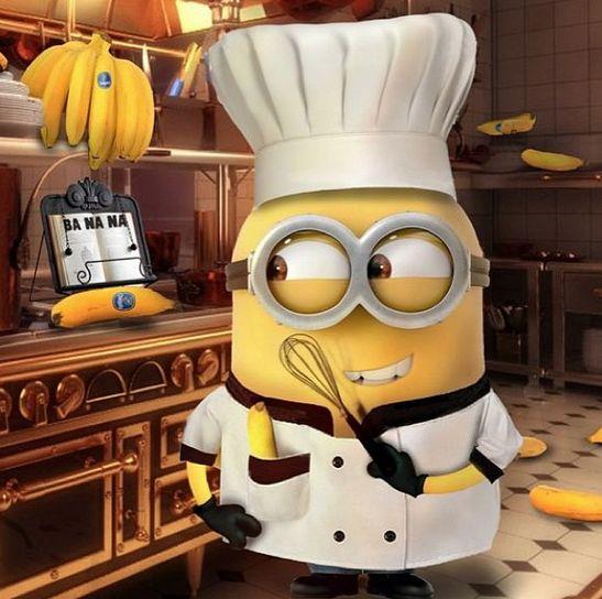 Minion chefs are so cute!