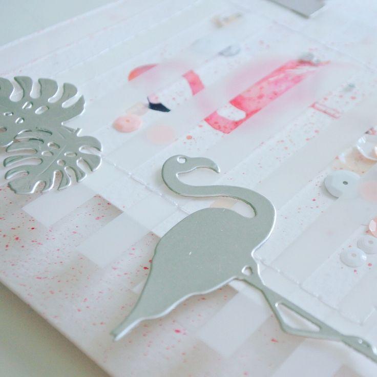 Flamingo Karte