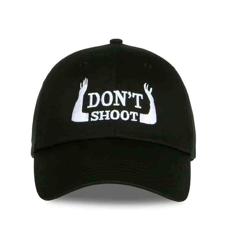Don't Shoot Black cap Dad Hats  & FREE Shipping Worldwide //$15.99    #horology #instawatch