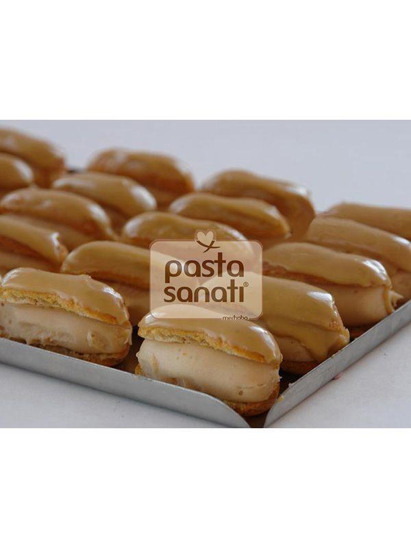 Karamelli ekler #ekler #delicious #yummy #pasta #tatlı #pastasanati  www.merhaba.com.tr