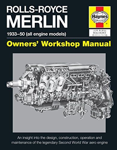 Rolls-Royce Merlin Manual - 1933-50 (all engine models): An insight into the design, construction, operation and maintenance of the legendary World War 2 aero engine (Owners' Workshop Manual)  US $28.46 & FREE Shipping  #bigboxpower