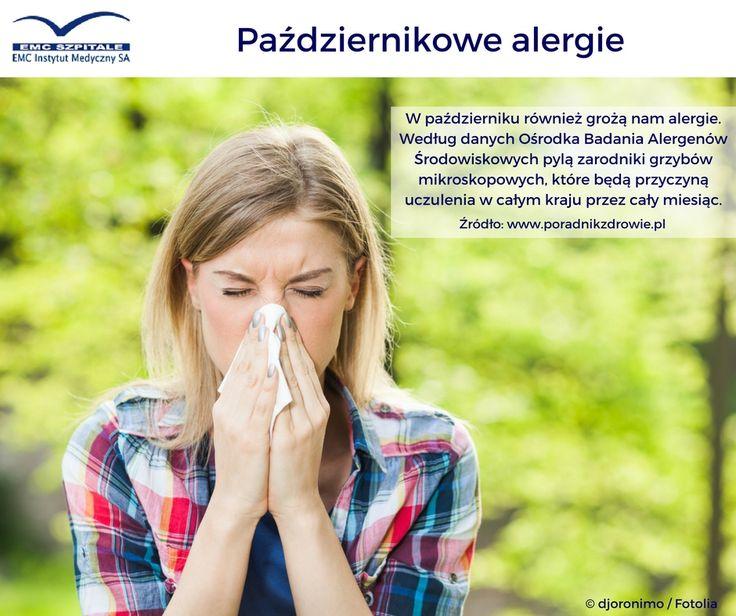 Pażdziernikowe alergie #emc #emcszpitale #alergia