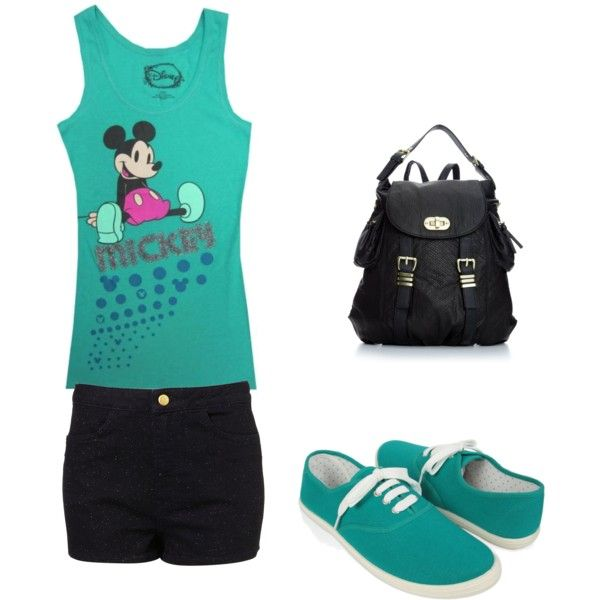 disneyland outfit!