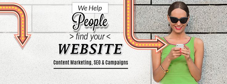 We help people find your website. Content Marketing, SEO & Campaigns.