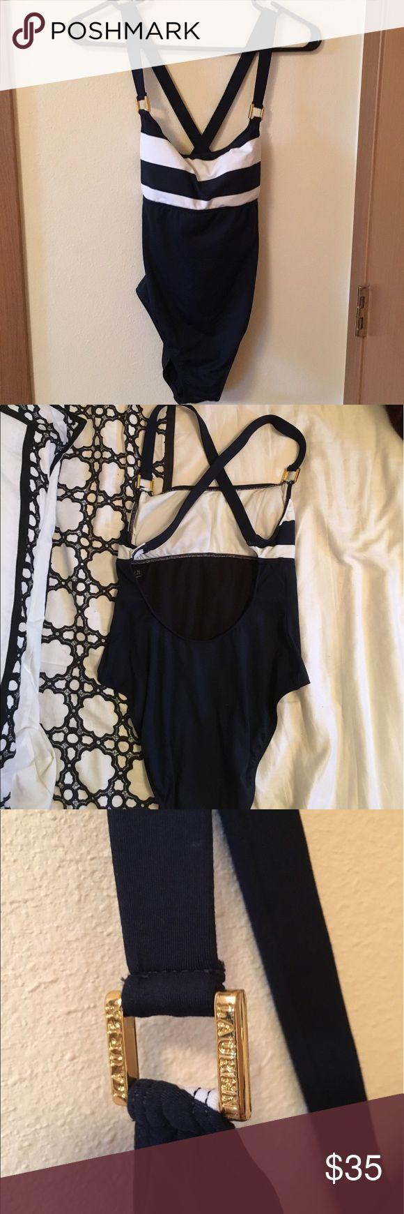 Ralph Lauren Swimsuit (One Piece) Nautical theme swimsuit// Mint Condition Ralph Lauren Swim One Pieces