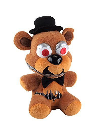 "Funko Five Nights at Freddy's Nightmare Freddy Plush, 6""…"