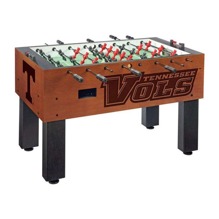 Tennessee Volunteers Laser Engraved Foosball Table Soccer
