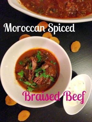 Paleo Moroccan Spiced Braised Beef | Cookie Loves...