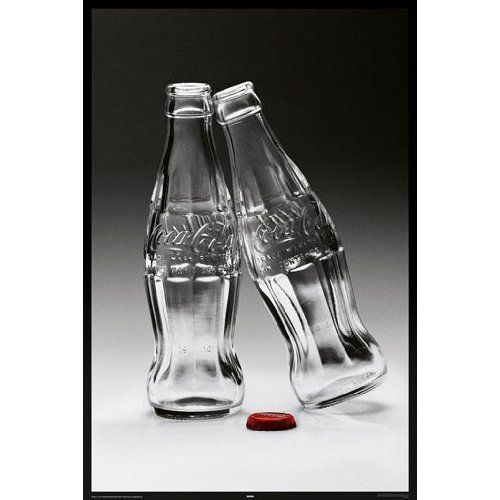 Food Posters: Coca Cola   Kiss   91.5x61cm:  Home