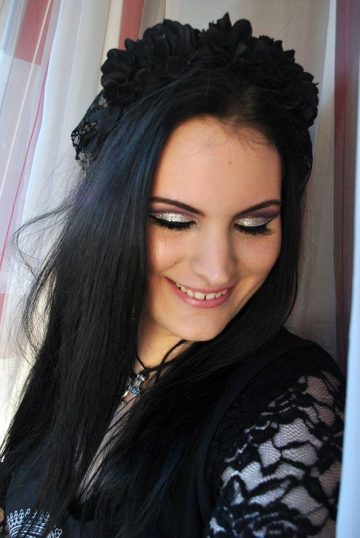 #makeup,  #nekromancica