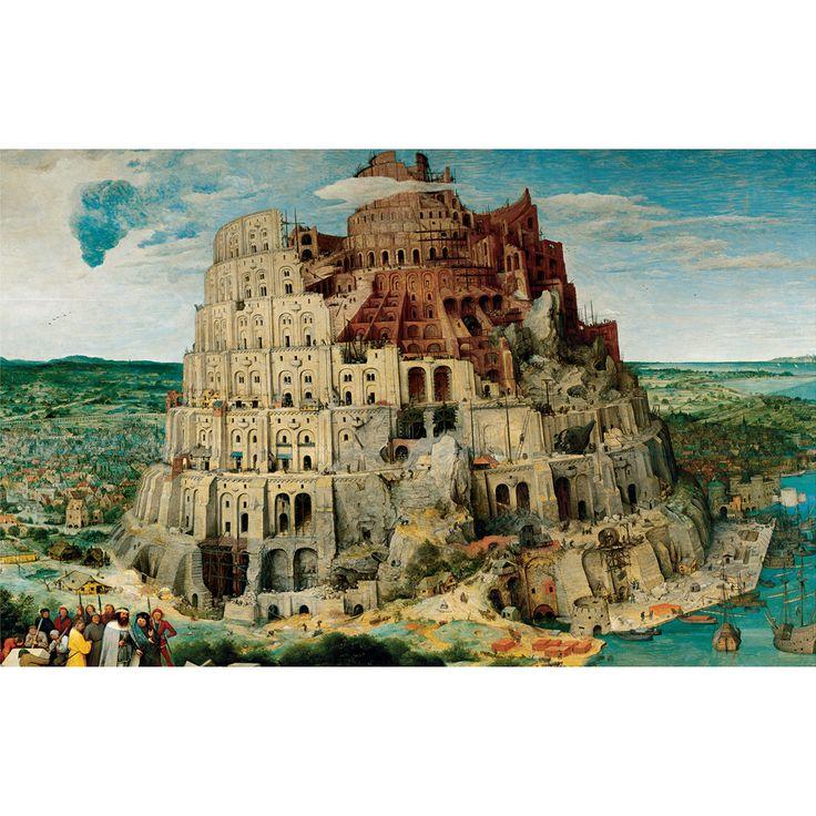 Puzzle 3000 peças Torre de Babel - lojagrow