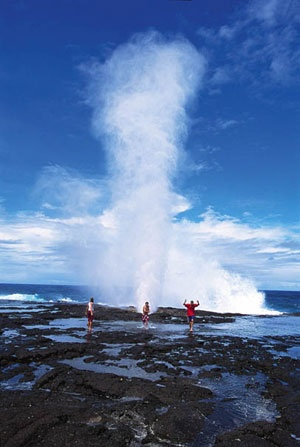 Taga Blow holes, Savaii Island, Samoa (been there w/ my dad .... ~Dahni)