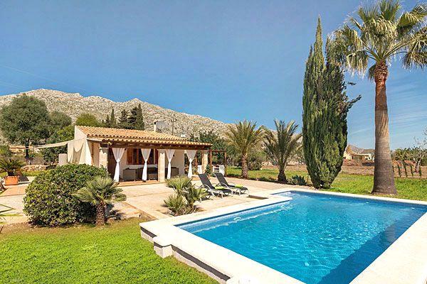 Ferienhaus bei Pollensa Mallorca mit Pool romantisch