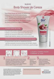 Body Shower de Cereza Swiss Just (Oferta semanal)