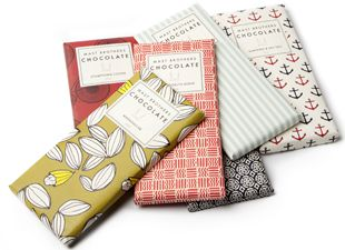 Mast Brothers - most gorgeous chocolate wrapping