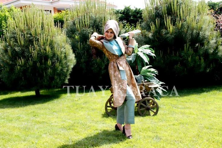 Tuay Karaca tesettür/hijab tasarımları