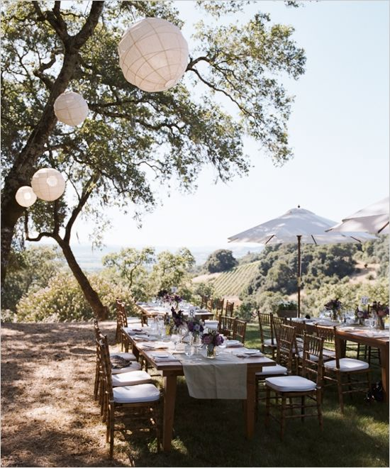 131 best wedding themes backyard chic images on pinterest elegant outdoor wedding from kevin chin photography junglespirit Images