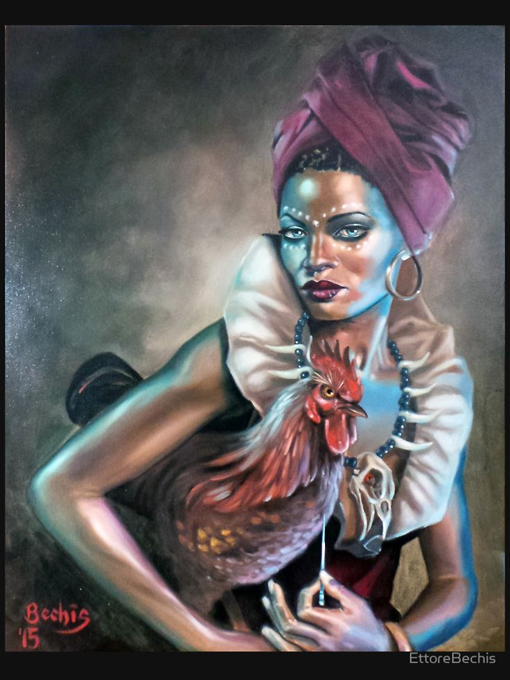 Voodoo Queen by LASILFIDEOSCURA on DeviantArt |Voodoo Queen Art