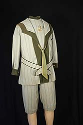 Boy's Wool Sailor Suit, circa 1890 to 1900