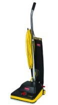 "Rubbermaid Commercial 9VCV12 16.5"" Length x 13.1"" Width x 46.1"" Height, 12"" Traditional Upright Vacuum Cleaner"